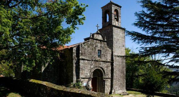 Campo Lameiro Igrexa Santa Marina